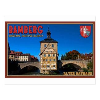 Bamberg - Altes Rathaus Landscape Postcard