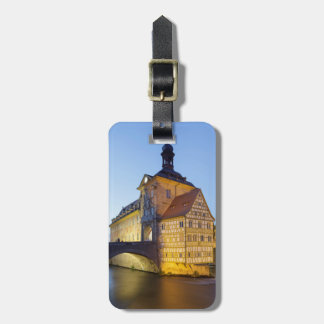 Bamberg evening luggage tag