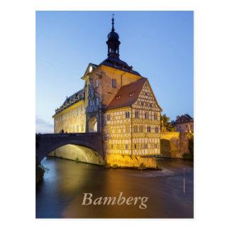 Bamberg evening postcard