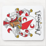 Bamberg Family Crest Mouse Pads
