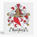 Bamberg Family Crest Vinyl Binders