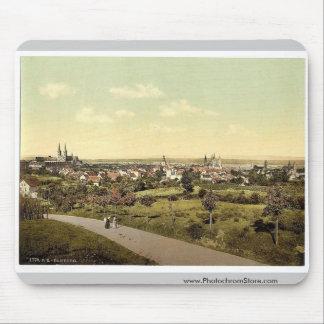 Bamberg, general view,  Bavaria, Germany vintage P Mousepad
