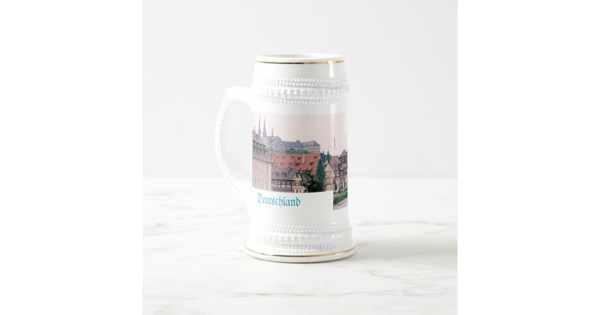 Bamberg Germany Beer Stein Zazzle Com