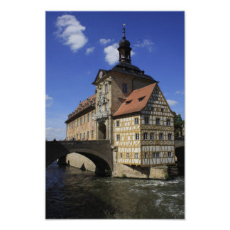 Bamberg, Germany's Rathaus Poster