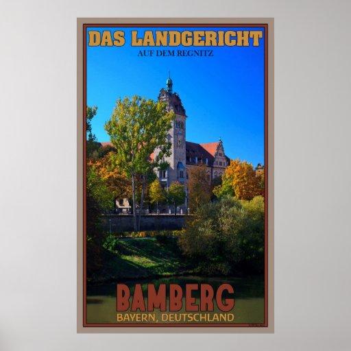 Bamberg Landgericht Poster