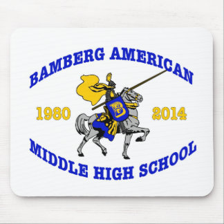 Bamberg Middle High School 1980-2014 Mousepads