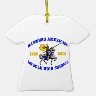 Bamberg Middle High School 1980-2014 Ornament