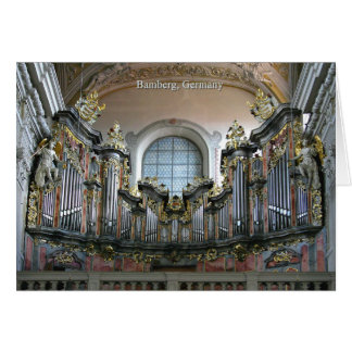 Bamberg organ card