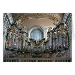 Bamberg organ greeting cards