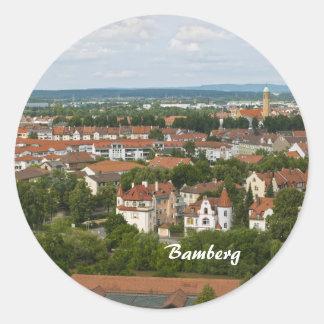 Bamberg Pegatina Redonda