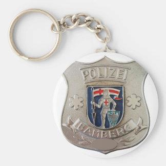 Bamberg Polizei Keychain