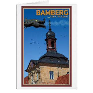 Bamberg - Waterspout Card