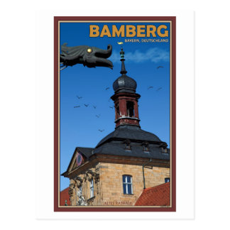 Bamberg - Waterspout Postcard