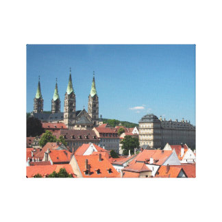 Bamberger cathedral canvas print