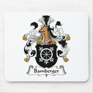Bamberger Family Crest Mouse Pads