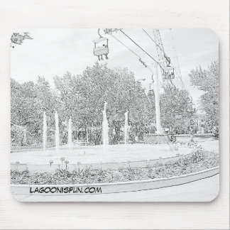 Bamberger Fountain Mouse Pad