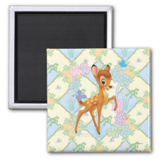Bambi 2 Inch Square Magnet