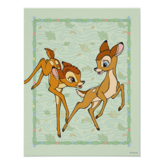 Bambi and Faline Poster