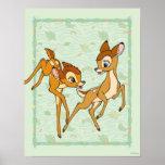 Bambi and Faline Print