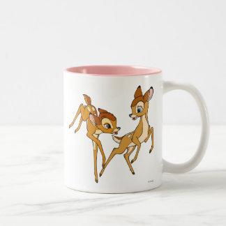 Bambi and Faline Two-Tone Coffee Mug