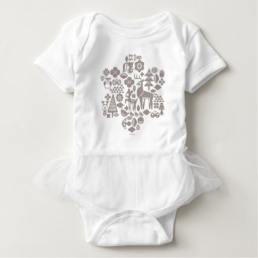 Disney Themed Bambi and Woodland Creatures Baby Bodysuit