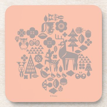 Disney Themed Bambi and Woodland Creatures Coaster
