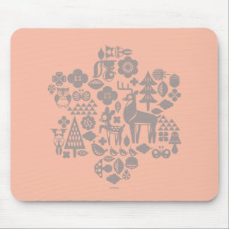 Bambi and Woodland Creatures Mouse Pad
