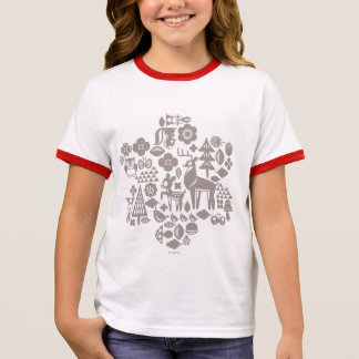 Bambi and Woodland Creatures Ringer T-Shirt