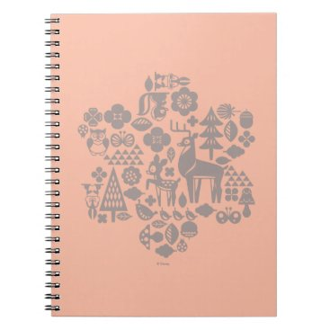 Disney Themed Bambi and Woodland Creatures Spiral Notebook