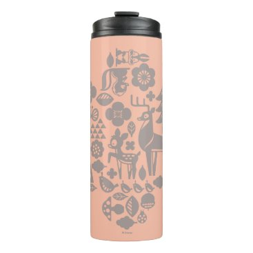 Disney Themed Bambi and Woodland Creatures Thermal Tumbler