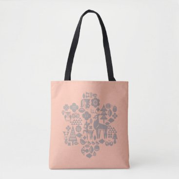 Disney Themed Bambi and Woodland Creatures Tote Bag