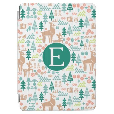 Disney Themed Bambi and Woodland Friends Pattern | Monogram iPad Air Cover