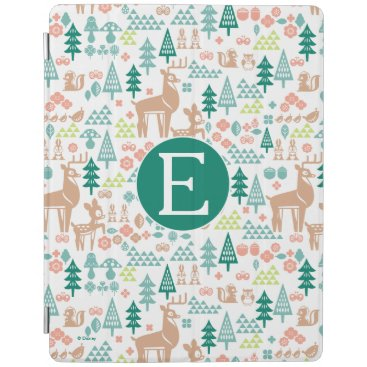 Disney Themed Bambi and Woodland Friends Pattern | Monogram iPad Smart Cover