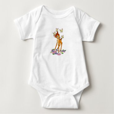 Disney Themed Bambi Baby Bodysuit