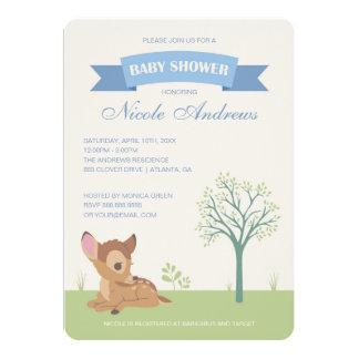 Bambi | Boy Baby Shower Card