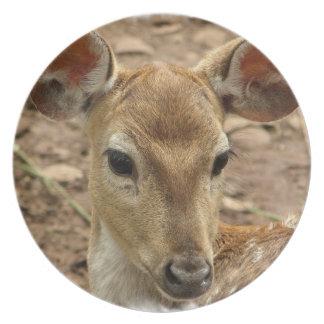 Bambi Deer Plate