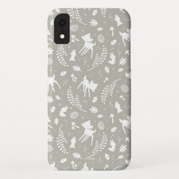 "Bambi ""Deer To My Heart"" Forest Graphic iPhone XR Case"