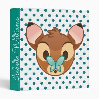 Bambi Emoji 3 Ring Binder