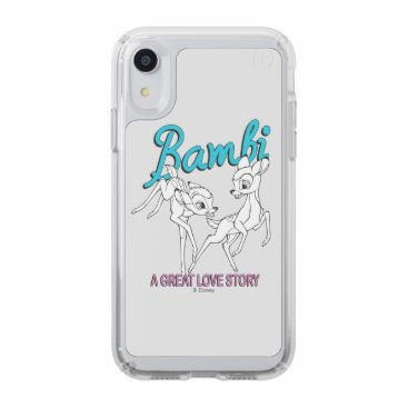 "Bambi & Faline ""A Great Love Story"" Speck iPhone XR Case"