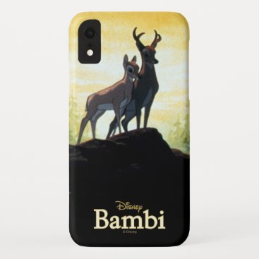 Bambi & Faline On Cliff iPhone XR Case