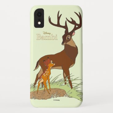 Bambi & Father iPhone XR Case