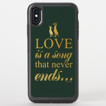 "Bambi & Father ""Love Is A Song That Never Ends"" OtterBox Symmetry iPhone XS Max Case"