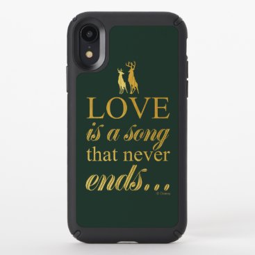 "Bambi & Father ""Love Is A Song That Never Ends"" Speck iPhone XR Case"