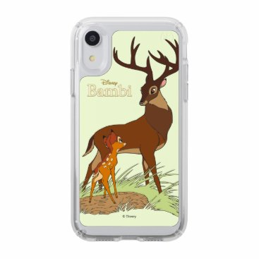 Bambi & Father Speck iPhone XR Case