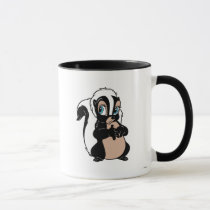 Bambi Flower skunk standing shy Mug