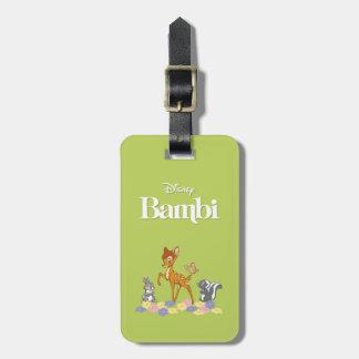 Bambi & Friends Bag Tag