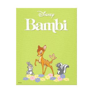 Bambi & Friends Canvas Print