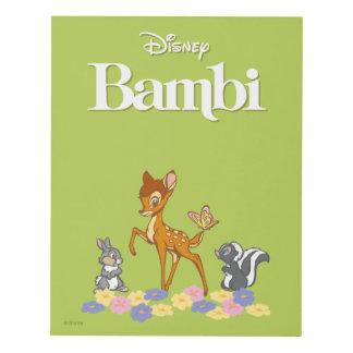Bambi & Friends Panel Wall Art