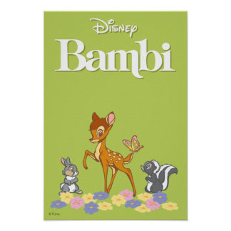 Bambi & Friends Poster