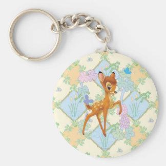 Bambi Llavero Redondo Tipo Pin